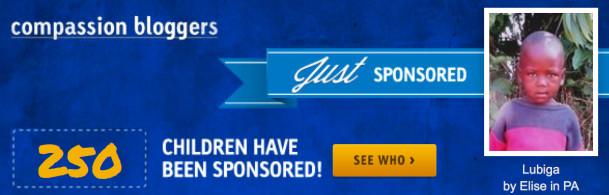 250 sponsored children ecudor 2016