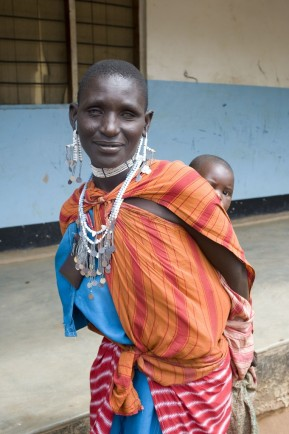 Massai woman Tanzania
