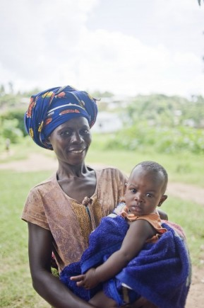 Tanzania mother and child