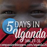Compassion Bloggers ganda Trip 2014
